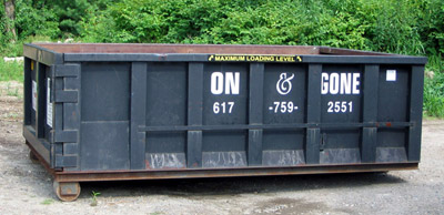 Ma Dumpster Rentals Roll Off Trash Dumpsters South Shore